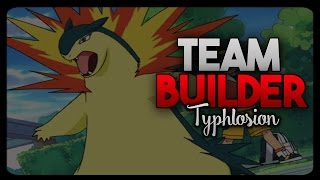 Typhlosion  - (Pokémon) - Typhlosion Team Builder (Heart Gold and Soul Silver)
