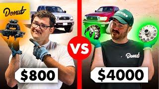 $800 E-Locker vs. $4000 Air Lockers