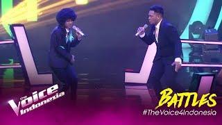 Treasure (Bruno Mars) - Dimas vs Joy | Battles | The Voice Indonesia GTV 2019