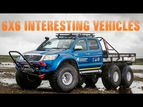ᴴᴰ 6x6 Truck Off Road Cars, Special Monster Modifiye Tuning - Modified Cars