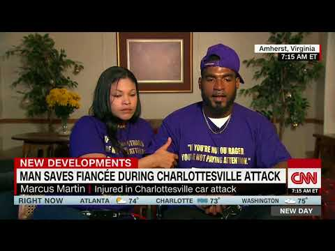 Charlottesville victim: Attacker wanted blood