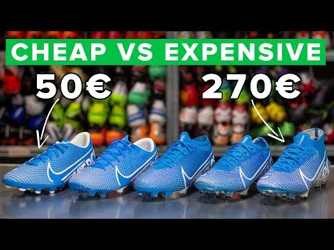 CHEAP vs EXPENSIVE - All Nike Mercurial boots explained: Elite, Pro, Academy or Club