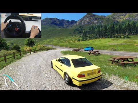 Download Nfs Most Wanted M3 Gtr Forza Horizon 4 Logitech G29 Game