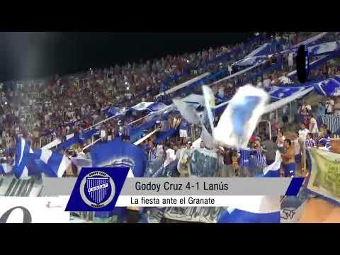 """""""Superliga: Hinchada vs. Lanús"""" Barra: La Banda del Expreso • Club: Godoy Cruz"""