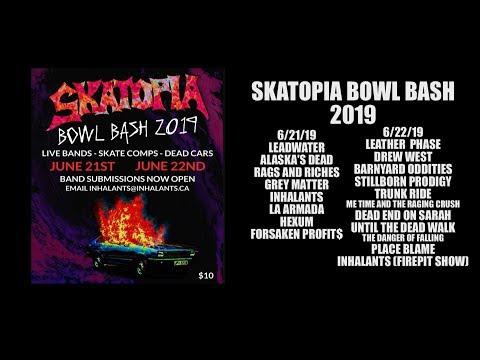 skatopia bowl bash 2019 (rutland, ohio) 6/21/19 and 6/22/19