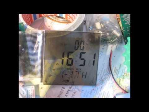 Digitaluhren-Display Ansteuerung auf Steckboard