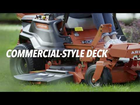2019 Ariens Ikon X 52 in. Kawasaki 23 hp in Greenland, Michigan - Video 1