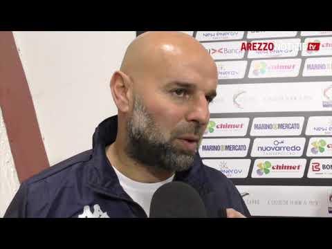 Arezzo-Mantova 1-1, intervista a mr Stellone