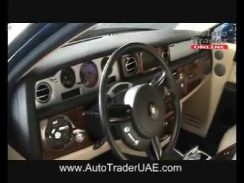 Auto Trader UAE - Rolls Royce Phantom - Royal Blue