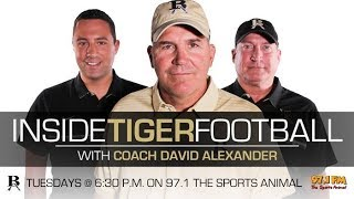 Inside Tiger Football: 10/3/17