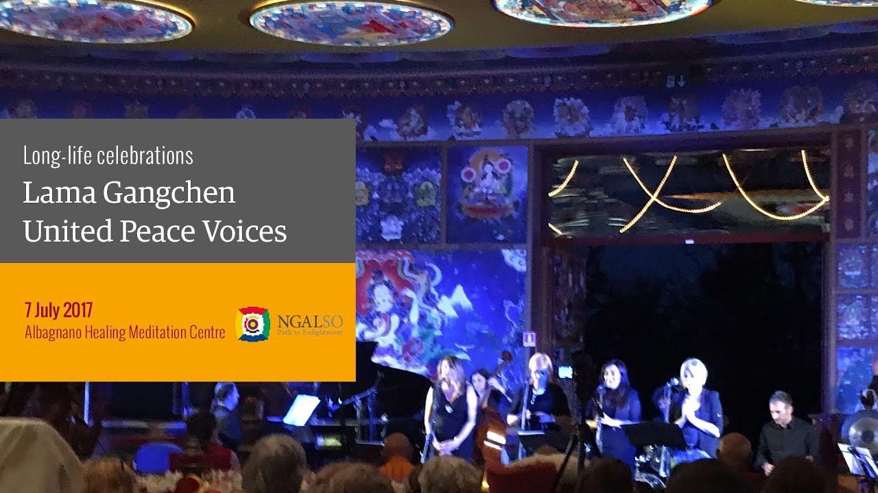 Lama Gangchen United Peace Voices