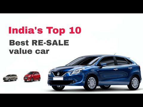 Top 10 Most Popular Car With Best Resale Value