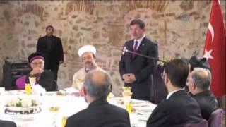 Ahmet Davutoğlu'ndan şok diyalog sözleri!