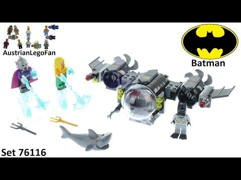 Vidéo LEGO DC Comics Super Heroes 76116 : Le Bat-Sous-Marin de Batman et le combat sous l'eau