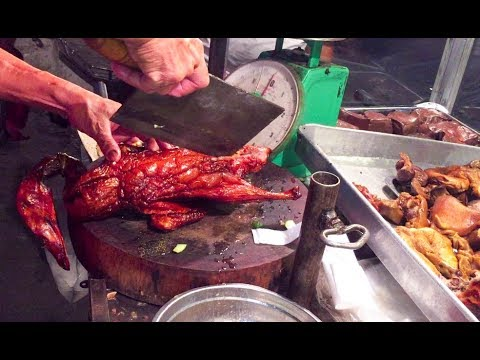 Asian Street Food, Fast Food Street in Asia, Cambodian Street food #166