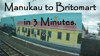 preview picture of video 'Manukau to Britomart in 3 Minutes'