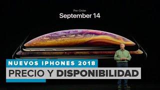 iPhone XS, iPhone XS Max y iPhone XR: precios y disponibilidad