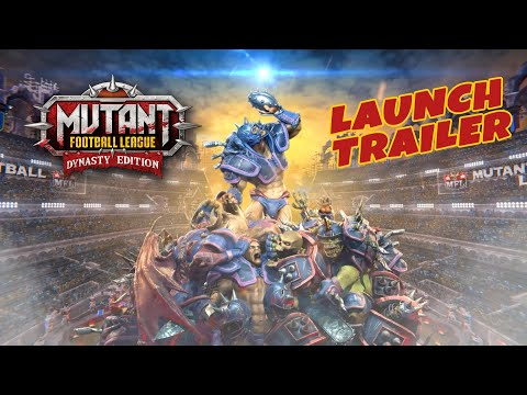 Mutant Football League - Dynasty Edition launch trailer thumbnail