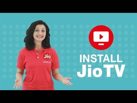 How to install JioTV app?