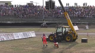Speedway Deutsche Meisterschaft Güstrow Lauf 06 mit Smolinski Martin