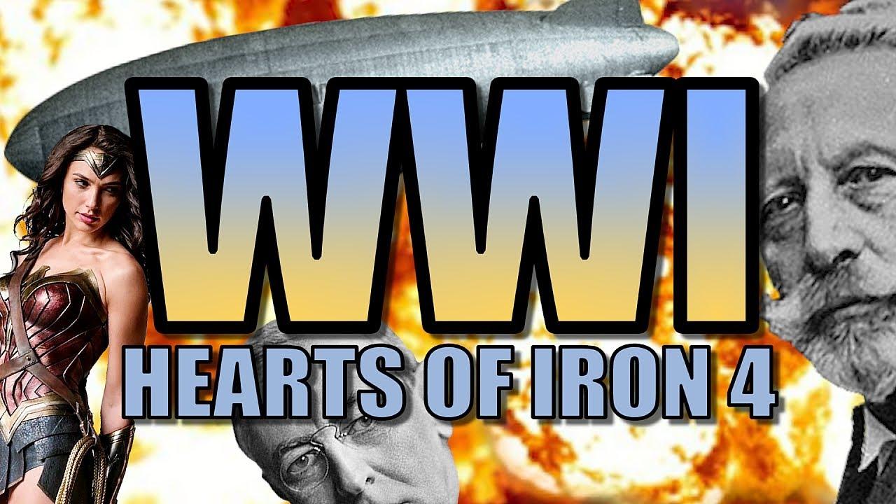HOI4: WORLD WAR ONE! | Heart of Iron 4: The Great War Mod