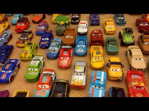 My Disney Pixar Cars 1 2 3 Diecast Collection With Movie Soundtrack Music