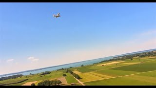 FPV Freestyle   chase a plane