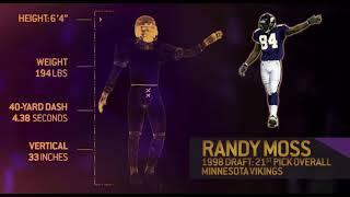 Randy Moss Highlights (Lil Durk - David Ruffin)