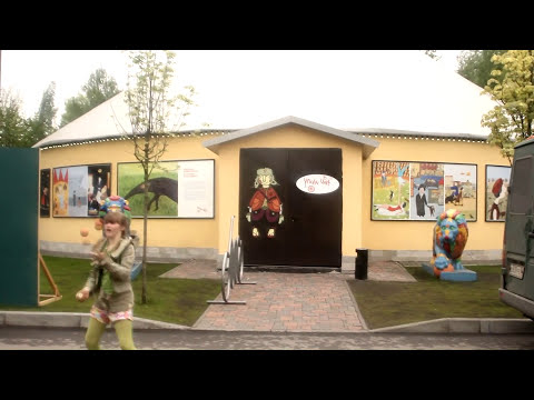 A new bus for young circus artists in Russia