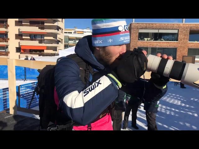 Jak vypadá den sportovního fotografa - běžecké lyžování (Bóša - sportovní fotograf)