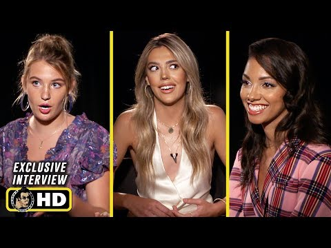Sistine Rose Stallone, Corinne Foxx and Sophie Nélisse Interview for 47 Meters Down: Uncaged
