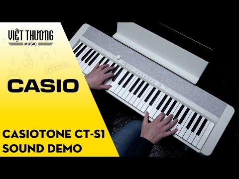 Casiotone CT-S1 Sound Demo