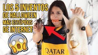 LOS 5 INVENTOS DE HALLOWEEN MÁS ESTÚPIDOS DE INTERNET