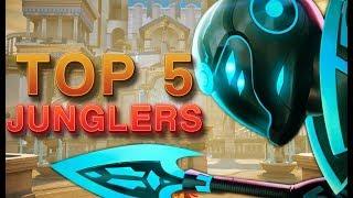 CURRENT TOP 5 JUNGLERS - Smite