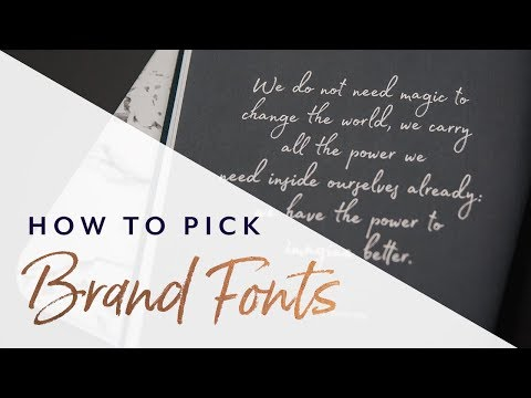 Select Your Fonts with Psychology in Mind