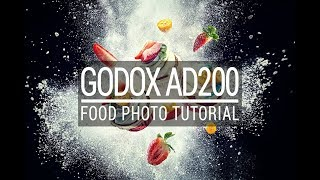 Godox AD200 - Food Photo Tutorial