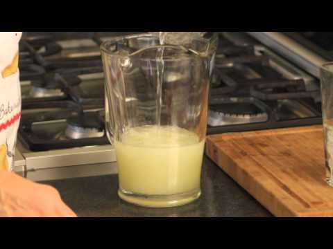 Limonada con agua mineral - Lemonade with Mineral Water