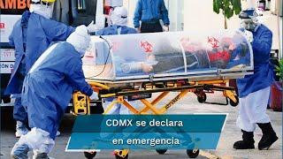 CDMX supera pico máximo de hospitalizaciones por Covid-19