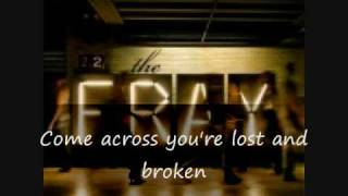 The Fray - Say when with lyrics