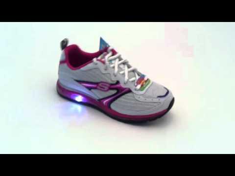 Skechers Blinki Schuhe Revv Air Halogen - 10172 WBHP
