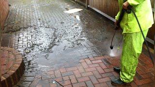Pressure Washing Brick Pavers (MUST WATCH)
