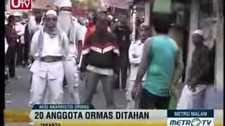 Inilah Video AKSI ANARKIS ORMAS FPI Vs POLISI Pada Waktu Demo Ahok