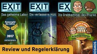 Exit: Das Spiel (Kennerspiel des Jahres 2017) - Review