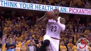 LeBron James Top 10 Dunks 2016 Playoffs