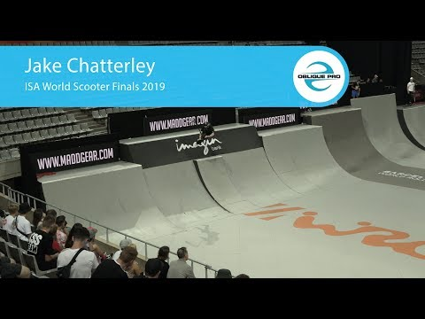 Jake Chatterley - ISA Men's World Scooter Semi Finals 2019