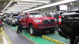 Toyota Tundra & Tacoma pickup trucks - Manufacturing Process