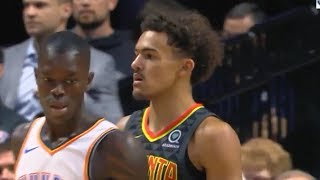 Trae Young Gets Schooled and Destroyed By Dennis Schroder! Thunder vs Hawks