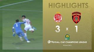 CL CAF : Wydad Athletic Club 3-1 USM Alger