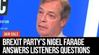 Iain Dale On Sunday: Interview With Nigel Farage - LBC