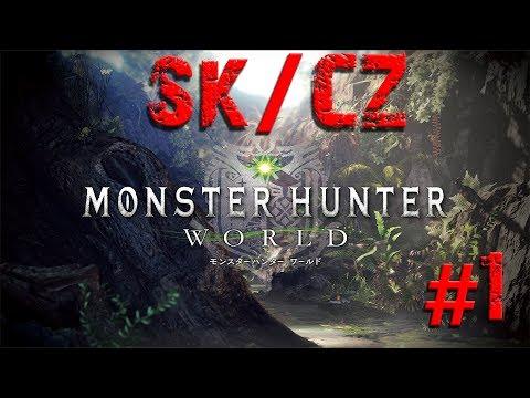 Monster Hunter World  - Začíname! Sk/Cz Let's play #1